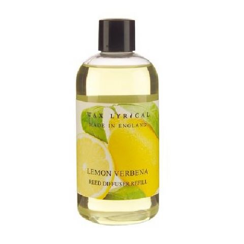 Lemon Verbena Fragranced Reed Diffuser Refill Made In England Wax Lyrical 250ml